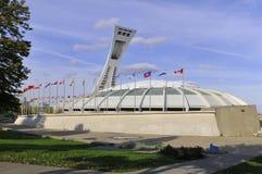 Estadio olímpico de Montreal Fotos de archivo libres de regalías