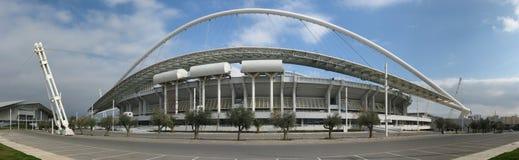 Estadio olímpico en Atenas imagen de archivo libre de regalías