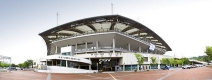 Estadio olímpico en Seul imagen de archivo libre de regalías