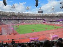 Estadio olímpico Londres 2012 Imagen de archivo libre de regalías