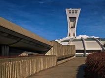 Estadio olímpico (Montreal) Fotos de archivo libres de regalías