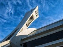 Estadio olímpico (Montreal) Imágenes de archivo libres de regalías