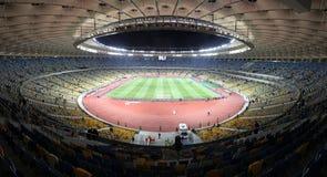 Estadio olímpico (NSC Olimpiysky) en Kyiv Fotografía de archivo libre de regalías