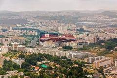 Estadio ostenta Lisboa e Benfica Fotos de Stock Royalty Free