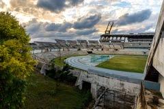 Estadio Panamericano在哈瓦那 库存图片