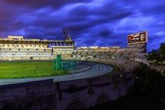 Estadio Panamericano在哈瓦那 库存照片