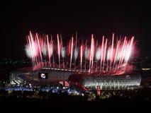 Estadio principal en Kaohsiung Fotografía de archivo libre de regalías
