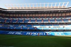 Estadio real del madird, Santiago Bernabeu Fotografía de archivo libre de regalías