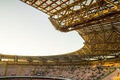 Estadio San Paolo, Napoli Foto de archivo libre de regalías