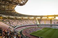 Estadio San Paolo, Napoli Imágenes de archivo libres de regalías