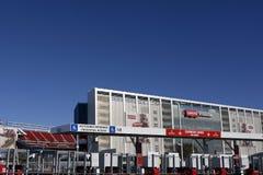 Estadio Santa Clara Calif de Levis Foto de archivo