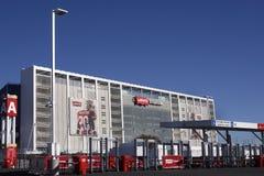Estadio Santa Clara Calif de Levis Fotografía de archivo