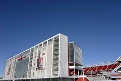 Estadio Santa Clara Calif de Levis Imagenes de archivo