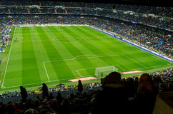 Estadio Santiago Bernabeu Stock Photo