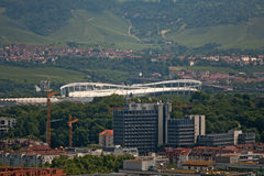 Estadio, Stuttgart Fotografía de archivo