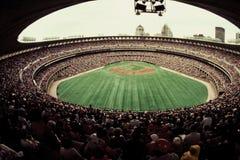 Estadio viejo de Busch, St. Louis, MES. Imagen de archivo
