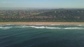 Estado costero de Zimbali, Ballito, Kwazulu Natal, Sur?frica almacen de metraje de vídeo