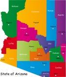 Estado de Arizona Imagen de archivo