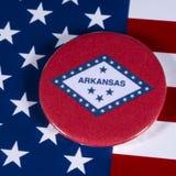 Estado de Arkansas en los E.E.U.U. foto de archivo
