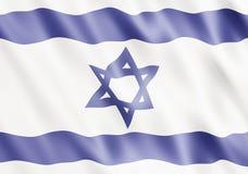 Estado de bandeira de Israel Foto de Stock