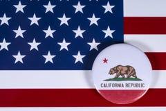Estado de California en los E.E.U.U. foto de archivo libre de regalías
