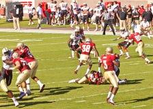 Estado de Florida contra o jogo de futebol de Maryland fotografia de stock