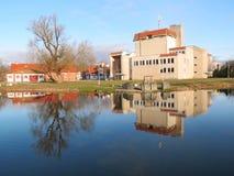 Estado de H. Sojaus y centro de reconstrucción, Lituania Fotos de archivo