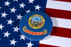 Estado de Idaho nos EUA Fotografia de Stock