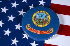 Estado de Idaho nos EUA Foto de Stock Royalty Free
