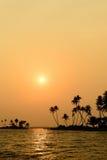 Estado de Kerala na Índia Fotos de Stock Royalty Free