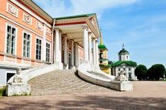 Estado de Kuskovo en Moscú Foto de archivo libre de regalías