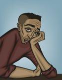 Estado de la desesperación - versión masculina libre illustration