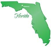 Estado de la Florida ilustración del vector