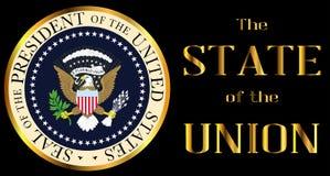 Estado de la Unión con el icono stock de ilustración