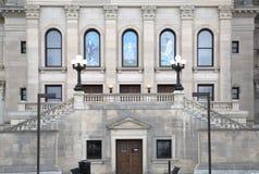Estado de los edificios del capitolio del exterior de Mississippi imagenes de archivo