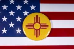 Estado de New México en los E.E.U.U. fotos de archivo