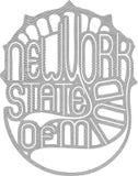 Estado de Nueva York de la mente fotos de archivo