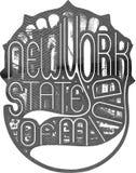 Estado de Nueva York de la mente fotos de archivo libres de regalías