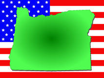 Estado de Oregon Foto de Stock