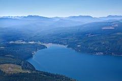 Estado de Washington de la bahía del descubrimiento foto de archivo