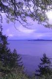 Estado de Washington derecho de Alaska Imagenes de archivo