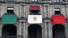 Estado del gobernador del palacio del gobierno de México Fotos de archivo libres de regalías