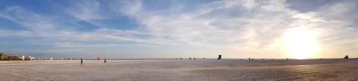 Estado del sol dominante de la Florida de la playa de la siesta imagenes de archivo