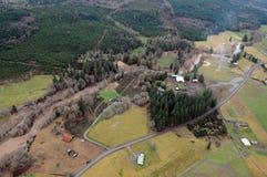 Estado do rio de Chehalis, Washington Imagens de Stock Royalty Free