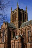 Estado Dumfries Escocia de Crichton y la iglesia conmemorativa foto de archivo libre de regalías