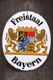 Estado federal de Baviera Imágenes de archivo libres de regalías