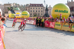 Estado final da excursão de Pologne em Krakow Imagens de Stock