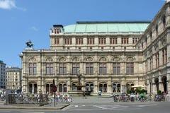 Estado Opera - Áustria de Viena fotos de stock royalty free