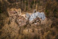 Estado y castillo de Khrapovitsky en Muromtsevo, Vladimir imagen de archivo libre de regalías