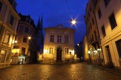 Estados bálticos tradicionales de la arquitectura, Riga Imágenes de archivo libres de regalías